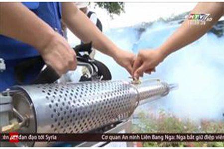 máy phun khói Vino - Viko